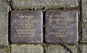 Heinrich Leoni Henriette Leoni Jude Wiesbaden