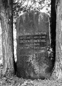 Seligmann Julchen Blumenthal Judenhaus Wiesbaden Grillparzerstr