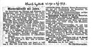 Nationalsozialistisches Mietgesetz Wiesbaden Judenhäuser