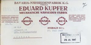 Kupfer Eduard, Hirschkind Dora Lilly Theobald