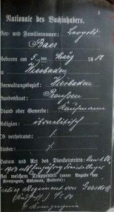 Leopold Baer, Jude, Wiesbaden