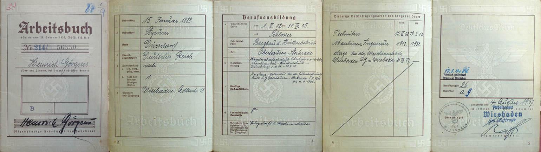 Sidonie Görgens Blumenthal, Martha Blumenthal, Julius Kahn, Judenhaus Hallgarter Str. 6 Wiesbaden