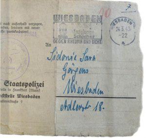 Judenhaus Hallgarter Str. 6 Wiesbaden, Martha Kahn, Julius Kahn
