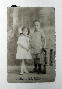 Arthur Straus, Anna Waller, Judenhaus Wiesbaden, Bahnhofstr. 25