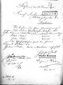 Eichbaum Ziegelei, Julius Kahn, Aurelie Kahn, Aurelie Lichtenstetter
