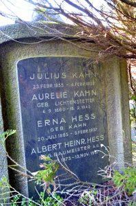 Erna Hess, Aurelia Lichtenstetter