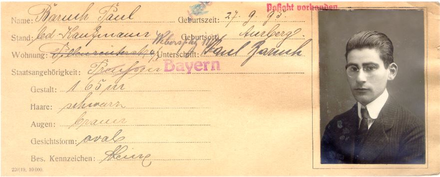 Ludwig Baruch, Lilly Baruch, Judenhaus Wiesbaden