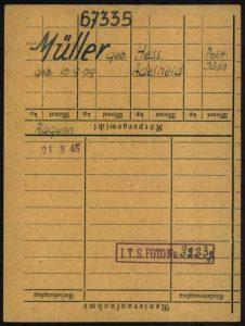 Adelheit Müller-Hess, Thekla Hess, Judenhaus Wiesbaden, Bahnhofstr. 25,