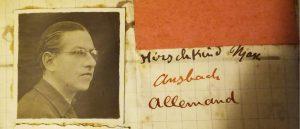 Meillon, Paul Mirat, Max Hirschkind, Judenhaus Wiesbaden, Bahnhofstr. 25