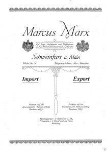Judenhaus Albrechtstr. 13, Wiesbaden, Marcus Marx, Emma Brandis, Eva Levison