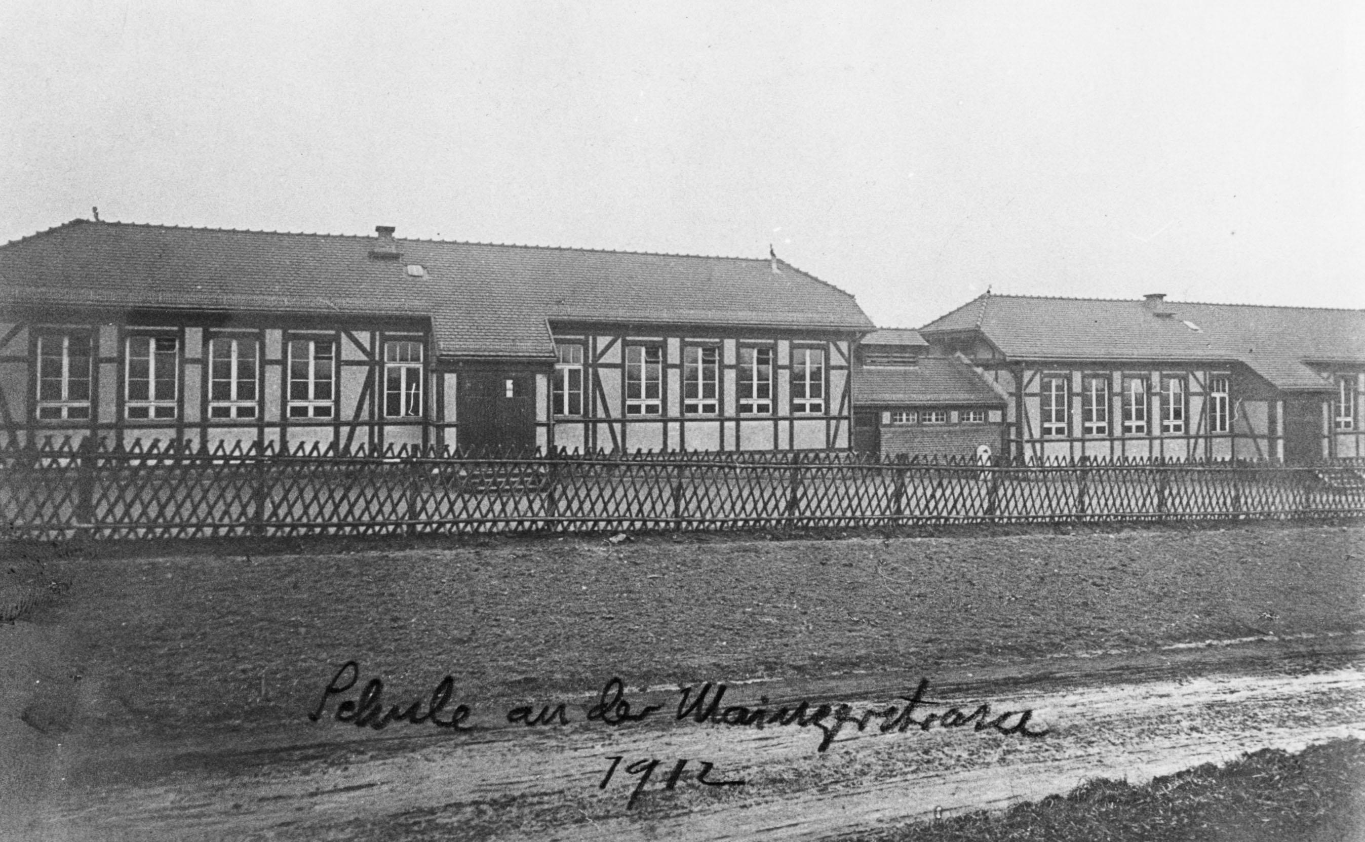 Mainzer Str. 6, Lotte Bernstein, Ida Cohn, Judenhaus Emser Str 26a